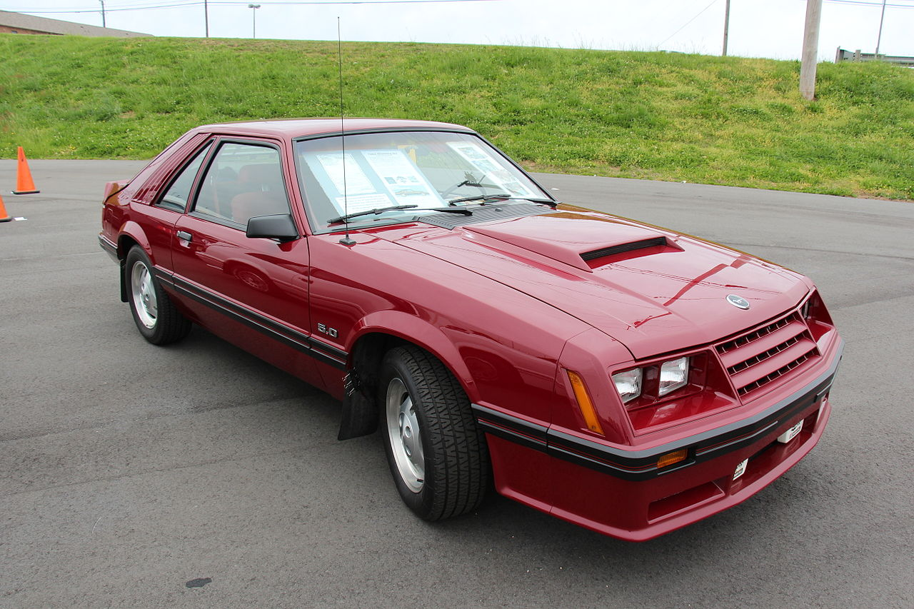 ford mustang III 1982