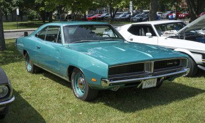 Dodge Charger 1969 groen