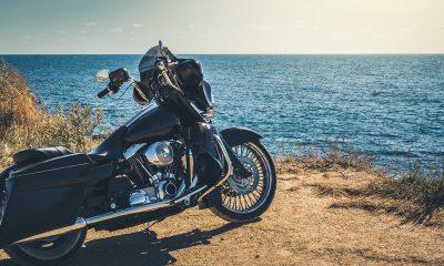 motorrijden in de zomer