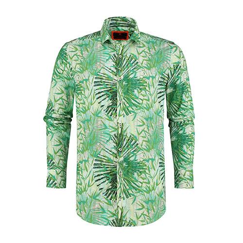 tropische bloemen overhemd