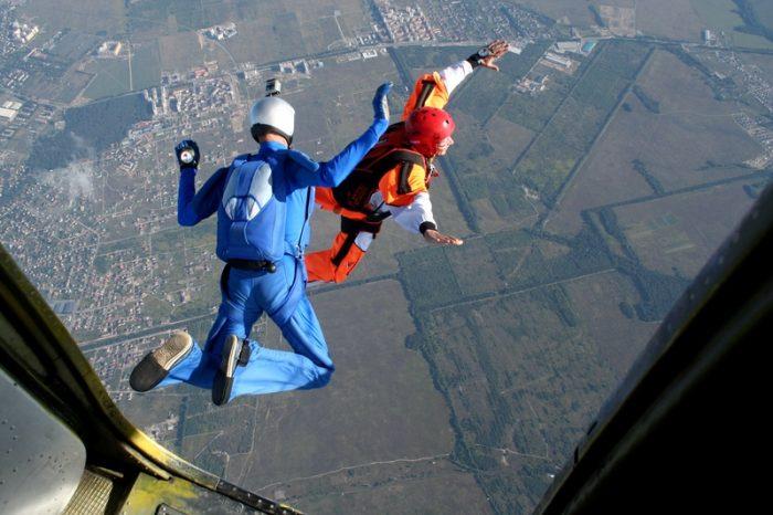 parachute springen in Nederland