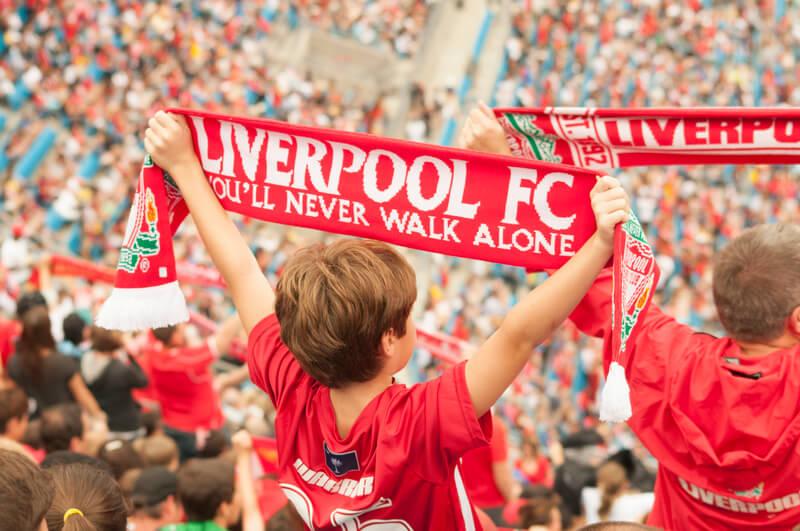 voetbalreis naar Liverpool boeken
