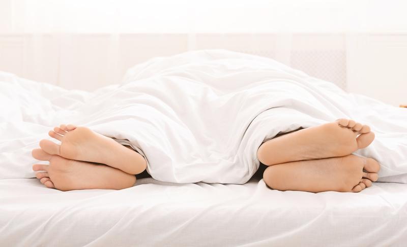 liever alleen slapen