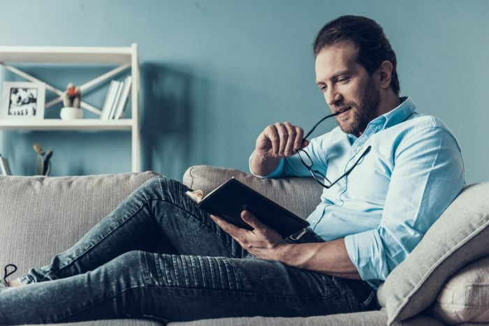 een goed boek lezen