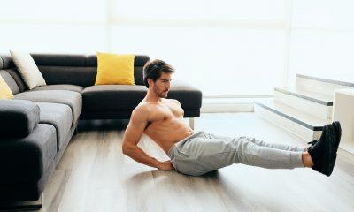 rust pakken tijdens sporten