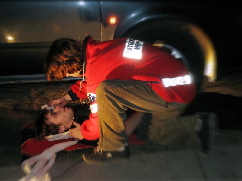 betrokken bij een ongeval
