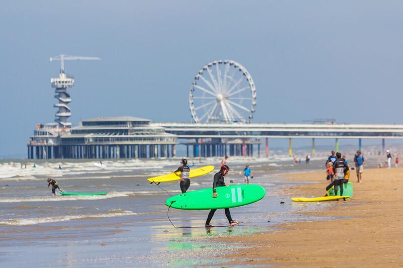 beste surfspots in nederland