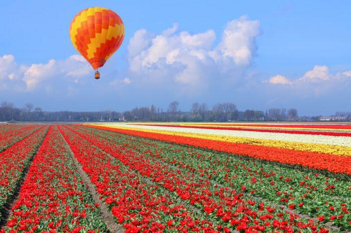 mooiste ballonvaart nederland