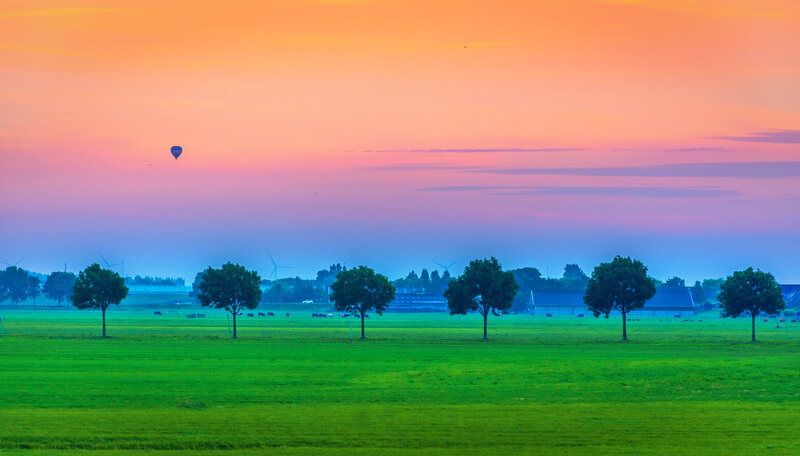 mooiste ballonvaart van Nederland