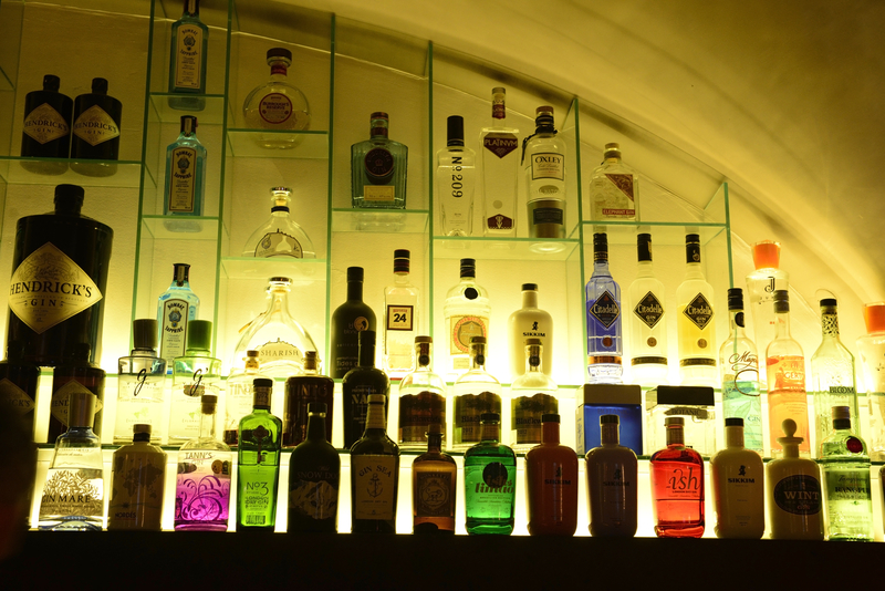 verschillende soorten gin