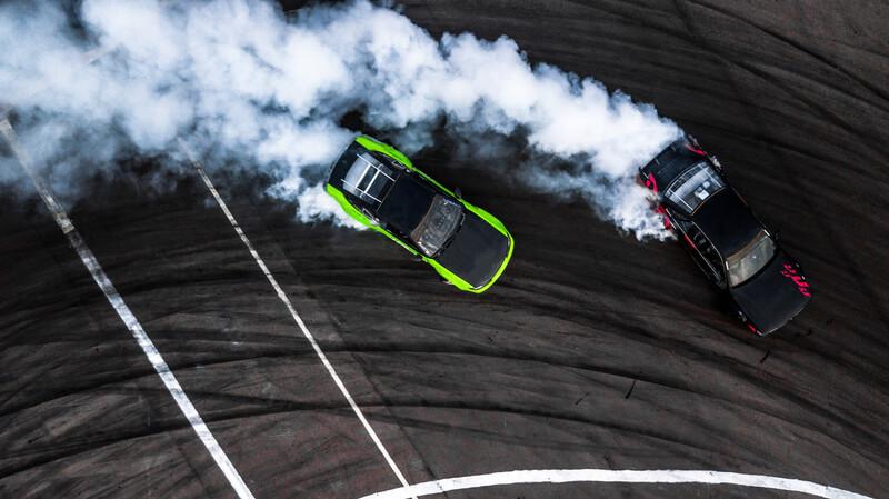 auto's driften