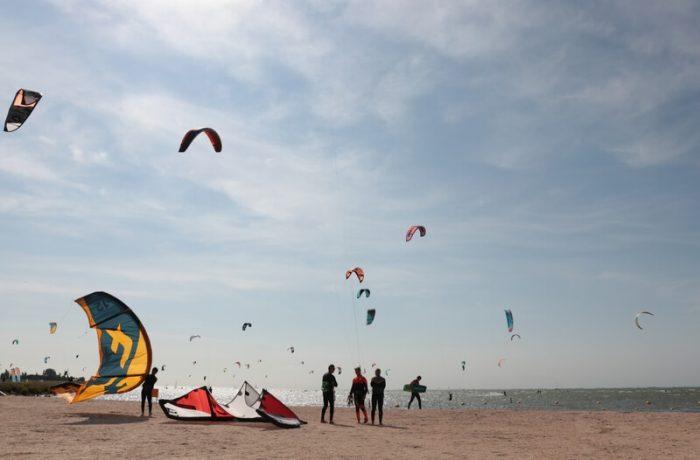 de beste kitesurfspots van nederland