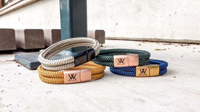 Mannen touw armbanden