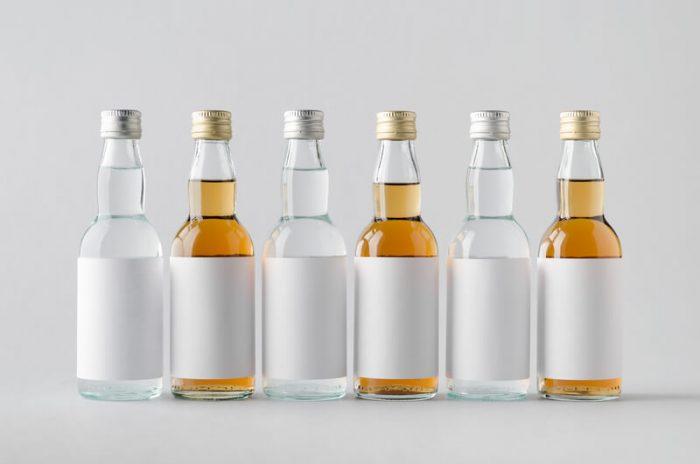 whisky miniature