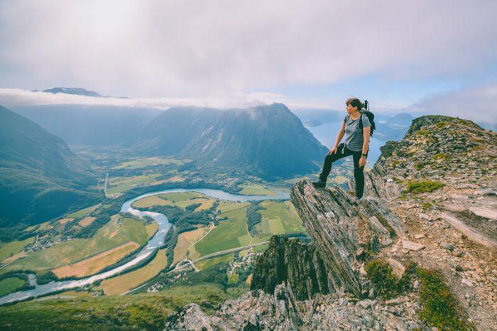 romsdalseggen Noorwegen
